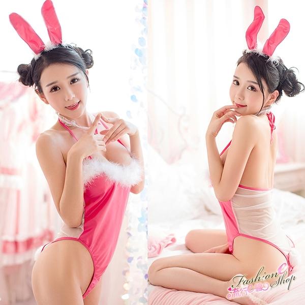兔女郎 透明薄紗兔女郎角色扮演制服兔女制服~流行E線A7180