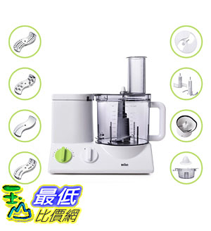 [美國直購] BRAUN FP3020 12-Cup食物處理器 Food Processor Ultra Quiet Powerful plus Bonus Mini Processing Bowl