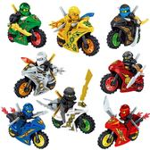 樂高積木 人仔積木拼裝玩具 兒童禮物 益智男孩子摩托車 ZJ653 【大尺碼女王】