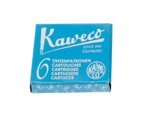 德國KAWECO天藍色彩色墨水管3盒入