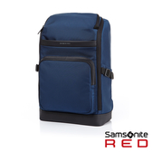 Samsonite RED GALBRAITH 運動風上開式流行後背包(藍)
