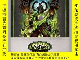 二手書博民逛書店World罕見of Warcraft: Legion Hardcover Blank SketchbookY4