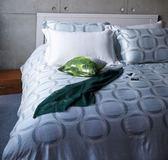 【金‧安德森】萊賽爾天絲《康納 · 綠》床包四件組 (標準雙人)