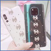 HTC Desire21 U20 5G Desire20 pro Desire19s U19e U12 life U11+ 直條蝴蝶結 水鑽殼 手機殼 貼鑽殼 客製