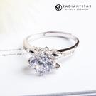 [925純銀]摯愛一生大顆單鑽戒指【SL...