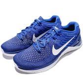 【五折特賣】Nike 訓練鞋 Metcon DSX Flyknit 藍 白 健身專用 飛線編織 運動鞋 男鞋【PUMP306】 852930-402
