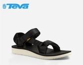 丹大戶外【TEVA】美國女款Original Universal Premier經典設計織帶涼鞋 1016935 BLK