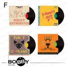 獨家珍藏4片組合包!喵居歲月法國《BOBBY》貓咪抓唱盤 貓DJ 貓抓板 造型抓板 不掉屑