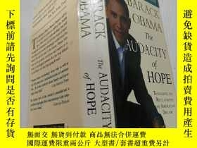 二手書博民逛書店THE罕見AUDACITY OF HOPE(無畏的希望)外文版Y