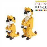 【日本KAWADA河田】Nanoblock迷你積木-貓鼬(狐獴) NBC-022