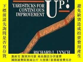 二手書博民逛書店Measure罕見Up!: Yardsticks for Continuous Improvement-測量一下!