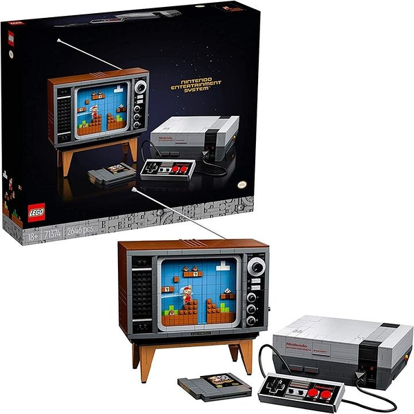 LEGO 樂高 超級馬里奧 LEGO(R) Nintendo Entertainment System(TM) 71374
