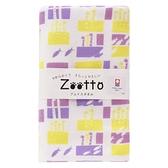 【日本製】【Zootto】今治毛巾 Imabari Towel 紗布 洗臉毛巾 花園鰻 SD-2319 - 日本製