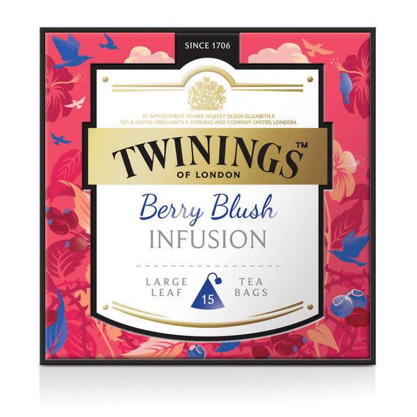唐寧茶【Twinings】鉑金系列 胭脂莓果茶(3gx15入茶包)