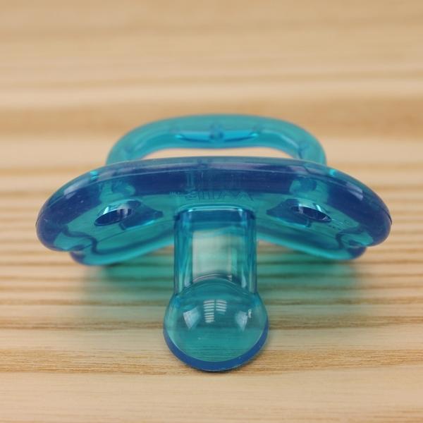 【愛的世界】Mii Organics 安撫矯正矽膠奶嘴2入裝-藍  - ---Mii 嬰兒用品