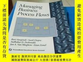 二手書博民逛書店MANAGING罕見BUSINESS PROCESS FLOWS