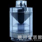 觀賞魚水妖精魚缸過濾器全自動吸魚便魚缸吸便器水族箱氧氣泵過濾 晴川生活館