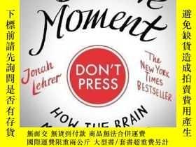 二手書博民逛書店The罕見Decisive MomentY364682 Jonah Lehrer Canongate Book