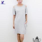 【春夏新品】American Bluedeer - 刺繡彈性洋裝