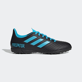 Adidas Predator 19.4 Tf [F35636] 男鞋 運動 足球 舒適 包覆 支撐 室外 愛迪達 黑藍