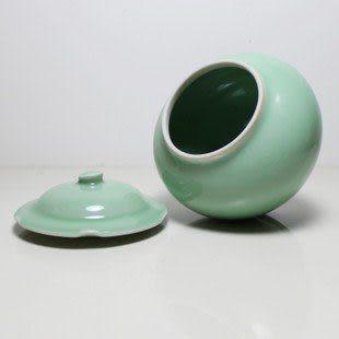 哥窯冰裂陶瓷錫紙密封存儲罐