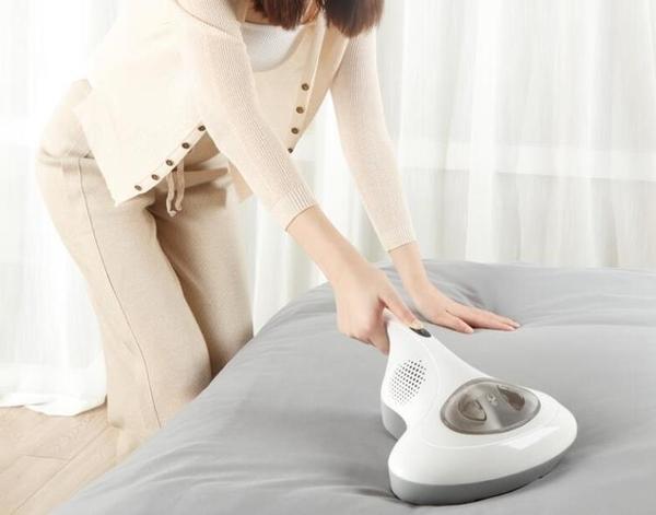 除螨儀韓夫人無線除螨儀紫外線殺菌床鋪吸螨蟲吸塵器家用床上小型除螨機JD CY潮流