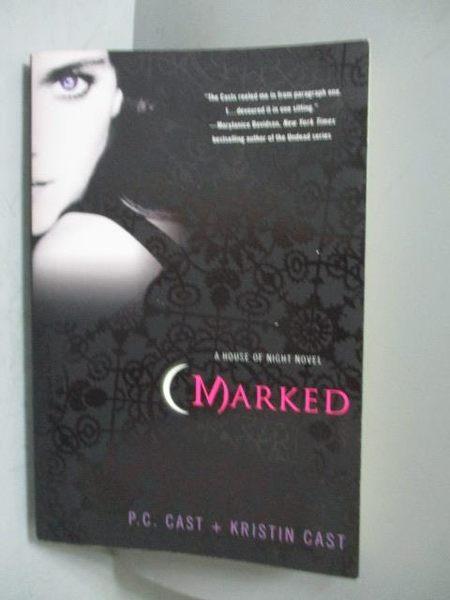 【書寶二手書T9/原文小說_NGL】Marked_Cast, P. C./ Cast, Kristin
