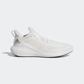 Adidas Alphabounce  W [G54122] 女鞋 運動 休閒 慢跑 訓練 無縫 舒適 緩震 愛迪達 白