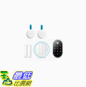 [8美國直購] Nest Secure and Nest x Yale Lock Bundle