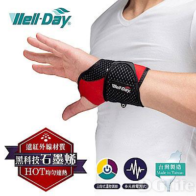 《晶宴》石墨烯 動力式熱敷墊 護腕 WDGH322