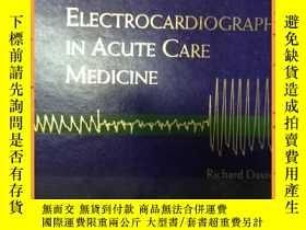 二手書博民逛書店英文書罕見electrocardiography in acute care medicine 心電圖在急診醫學中