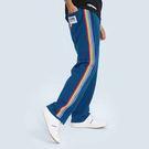 材質:內毛圈針織布版型:針織寬版長褲
