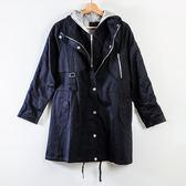 週年慶同步【MASTINA】假兩件式外套-深藍