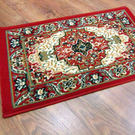 【范登伯格】艾美樂進口優質地毯-朱雀(紅)50x80cm