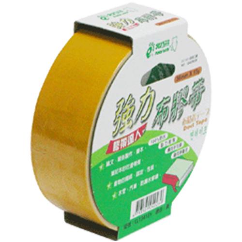 【奇奇文具】北極熊 CLT3615Y黃色布紋膠帶36mm×15yds (8卷)