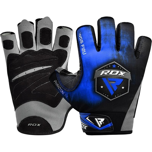 【線上體育】RDX GYM GLOVES SUMBLIMATION F12 BLUE