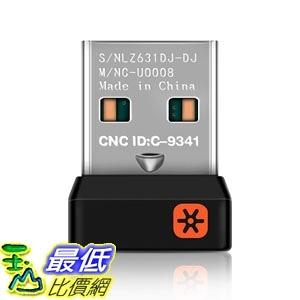 [7適用羅技商品Logitech ]2.4GHz receiver 正品 優聯接收器6通無線滑鼠鍵盤適配一通六 E19