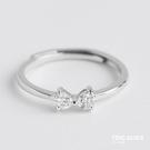 戒指 蝴蝶結戒指女韓國個性可愛公主甜美網紅食指學生開口指環刻字 尾牙