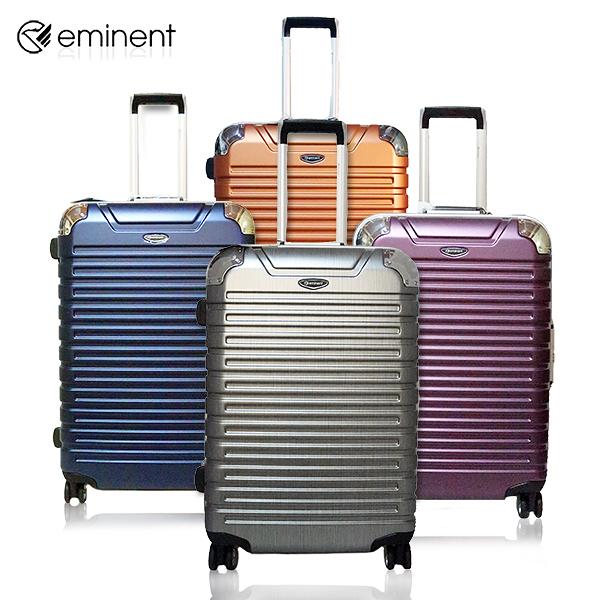 【Eminent 雅仕】 28吋 德國拜耳PC鋁框海關鎖行李箱/旅行箱