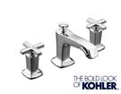 【麗室衛浴】美國 KOHLER Marhaux 三孔臉盆龍頭 十字把手款 K-16232T-3-CP
