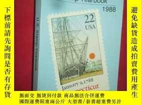 二手書博民逛書店Linn s罕見U.S. Stamp Yearbook 1988