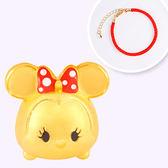 迪士尼系列金飾-TSUM TSUM造型黃金手鍊-美妮款