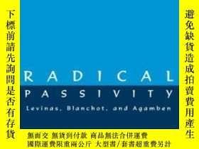 二手書博民逛書店Radical罕見Passivity-極端被動性Y436638 Thomas Carl Wall Suny P
