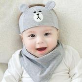 新年好禮 嬰兒帽子夏季薄款女寶寶新生兒胎帽初生0-3-6個月小孩鹵門帽男秋