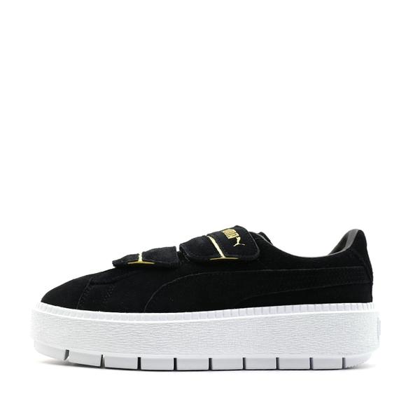 PUMA Platform Trace Strap -女款厚底麂皮休閒鞋- NO.36670902