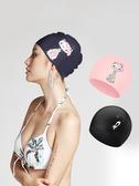 泳帽女長發防水矽膠遊泳帽ins時尚可愛護耳泳鏡套裝成人遊泳裝備