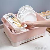 帶蓋碗碟架放碗架收納盒瀝水架 家用裝碗筷收納箱廚房碗櫃置物架