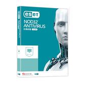 ESET NOD32 中文防毒軟體 Antivirus 1人3年盒裝版