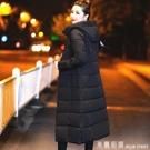 加厚羽絨棉服女中長款修身過膝2019新韓版棉衣連帽冬季棉襖外套 米蘭街頭