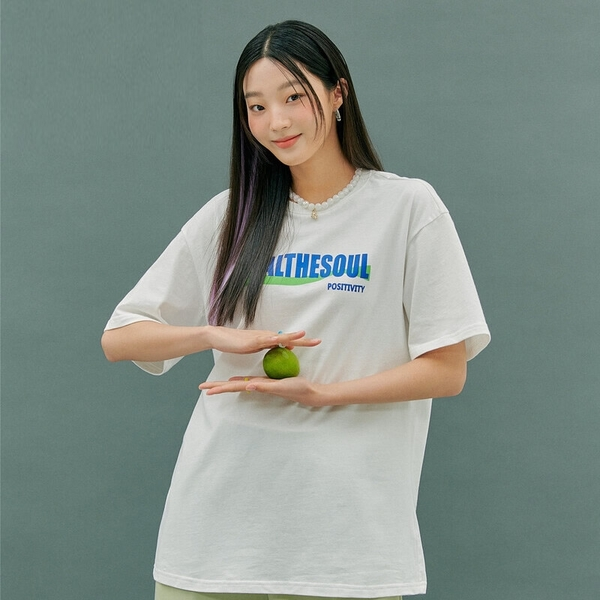 T恤 字母印花質感五分袖T恤衣PS10602-創翊韓都